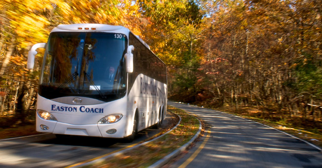 Our Luxury Motorcoach Fleet Features Top-of-the-Line Vehicles