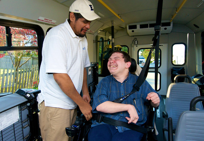 Easton Coach Company is an Experienced Paratransit Provider